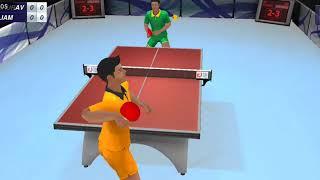 Saurav table tennis