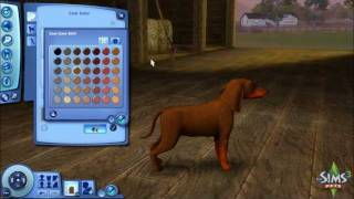 The Sims 3 - Pets Create A Pet Demo