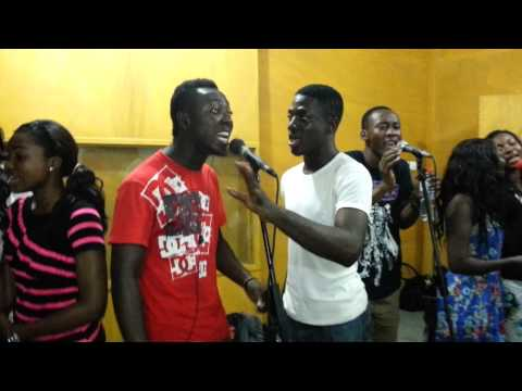 OverFlow Inc Uncut- behind the scenes,putting up an African medley