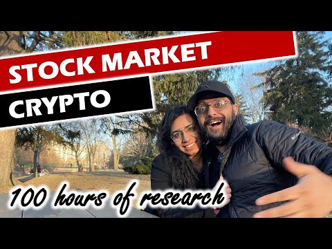Investing in Cryptocurrencies & our $2,000 / month portfolio 🇨🇦💰
