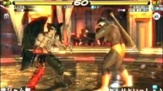 TEKKEN 6 - Devil Jin vs Armor King