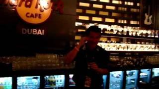 Band On the Run. Hard Rock Cafe, Dubai