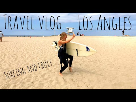 RAW VEGAN TRAVEL VLOG: CALIFORNIA, LA
