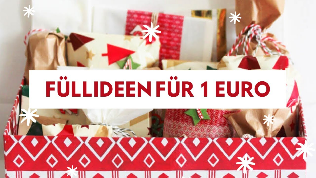50 f llideen f r den adventskalender f r 1 youtube. Black Bedroom Furniture Sets. Home Design Ideas