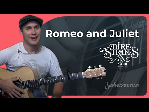 How to play Romeo And Juliet  Dire Straits Guitar Lesson BS923