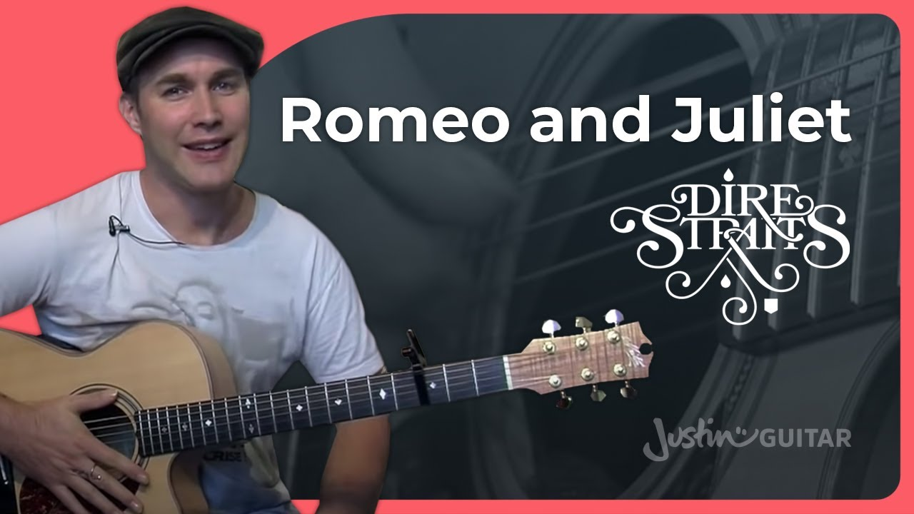How To Play Romeo And Juliet Dire Straits Guitar Lesson Bs 923