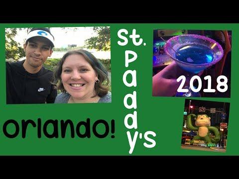 Saint Patrick's Day 2018 ~ Downtown Orlando Bar Crawl & Block Party ~ 2018 [VLOG]