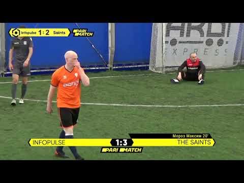 Огляд матчу   Infopulse 3 : 5 The Saints   Parimatch Cup 2021