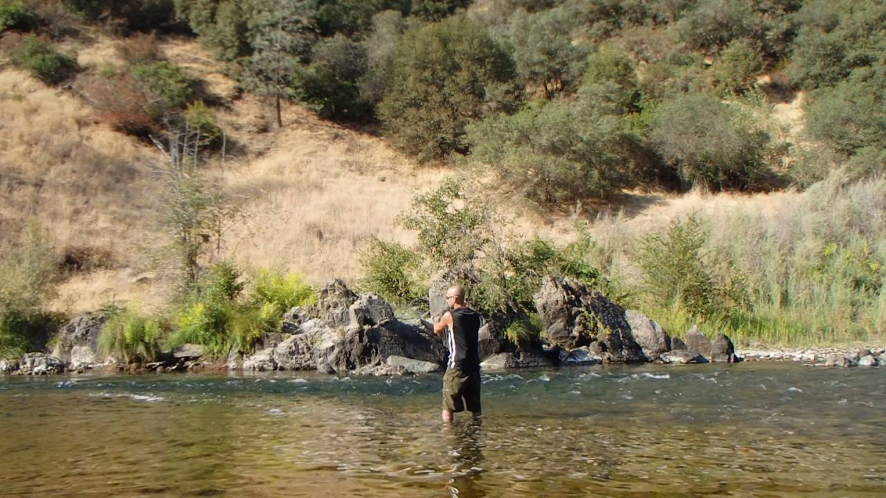 Trout fishing the middle fork of the american river youtube for American river fishing