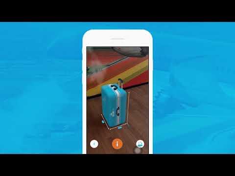 KLM's Augmented Reality Hand Baggage Check