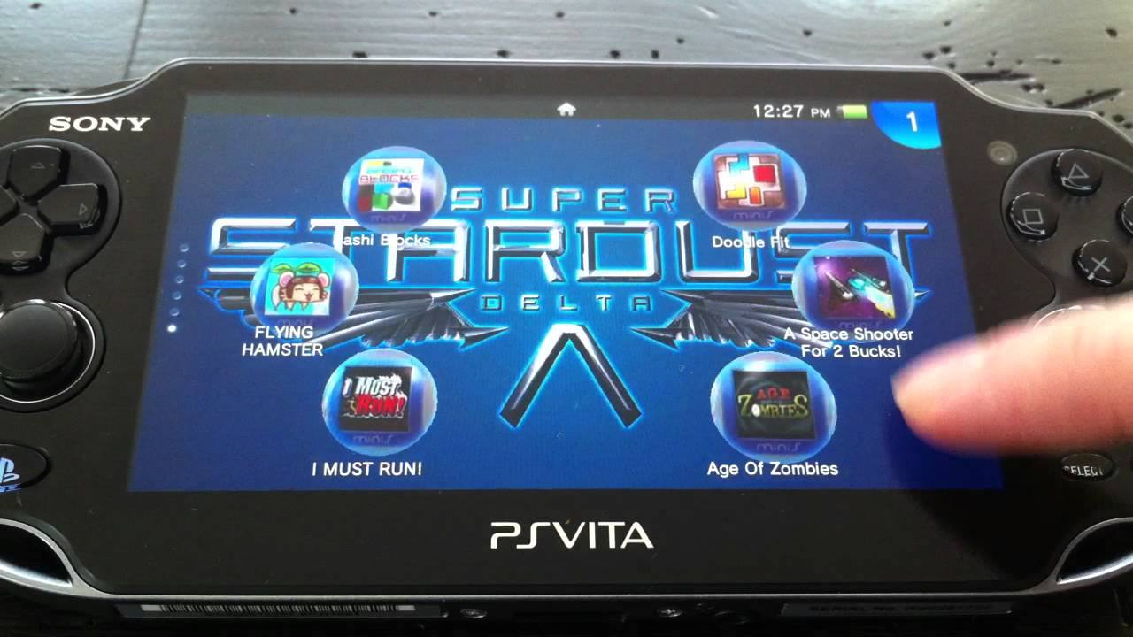 ps vita - customize background, home screen, and icons - youtube