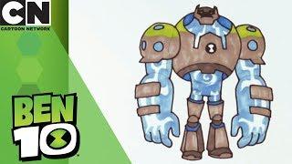 Ben 10   How to Draw Shockrock   Cartoon Network