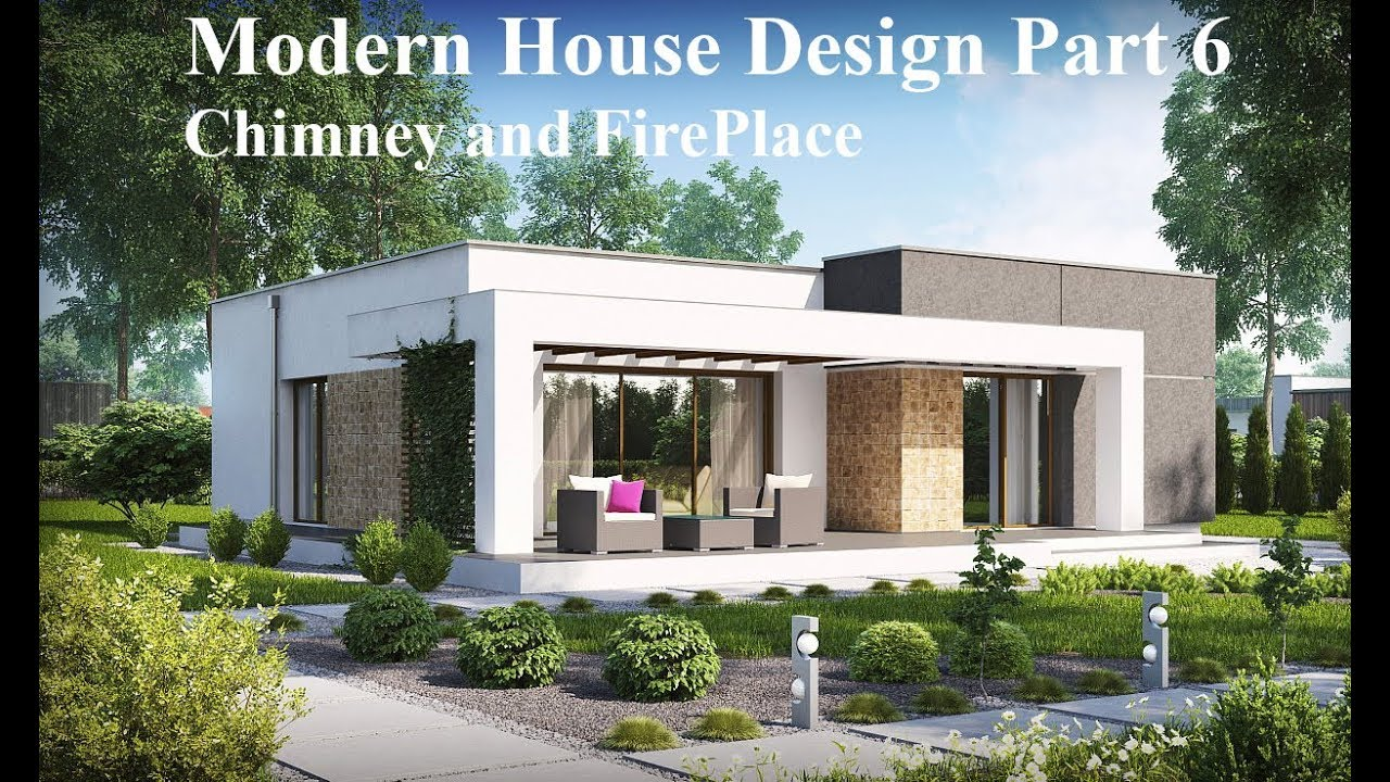 Revit tutorial modern house design part 6 chimney and fireplace
