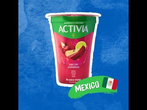 Activia juices with probiotics - a refreshing juice with probiotics, fruits & vegetables (2019)