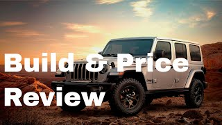 2019 Jeep Wrangler Unlimited Moab 4x4 - Build & Price Review: Interior, Gallery, Features and Specs