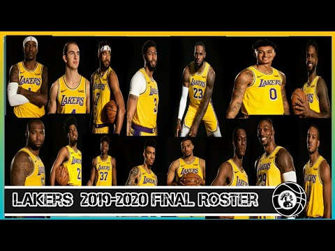 lakers roster 2020 to 2020