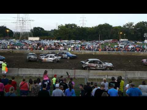 Demolition Derby, Hamilton County Fair 2014, Cincinnati, OH Part II