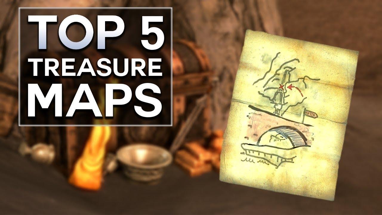 Skyrim - Top 5 Treasure Maps