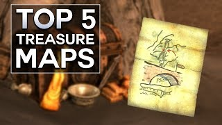 Skyrim - Top 5 Treasure Maps