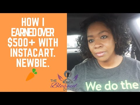 How much money I make with Instacart? $500+ per week