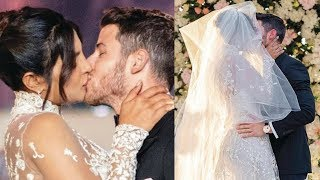 Priyanka Chopra And Nick Jonas Kisses Video At Her Wedding Reception