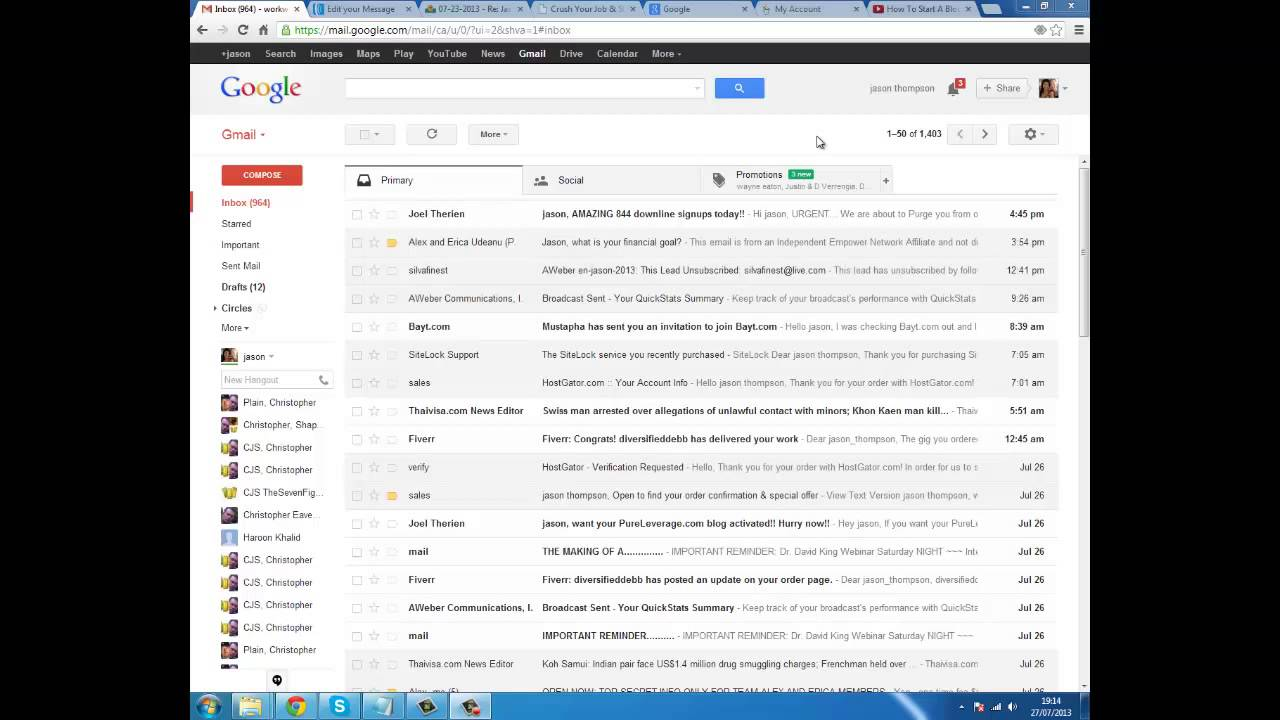 how to change old gmail to new gmail