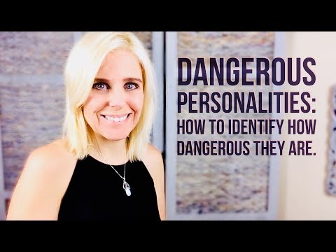 DANGEROUS PEOPLE: How To Identify Them Early