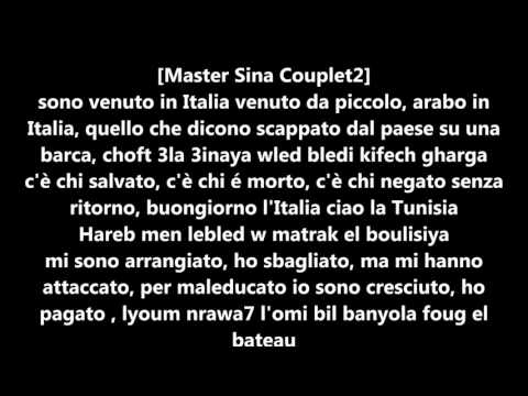 Master Sina Et Balti , Clandestino Lyrics/paroles