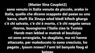 master sina et balti clandestino lyricsparoles