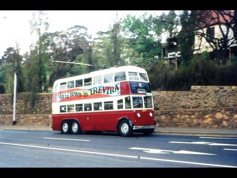 Johannesburg's Trolleybuses 1973