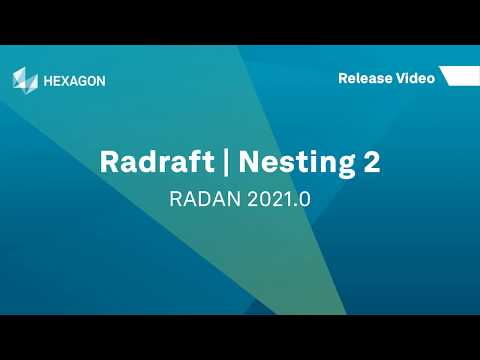 Radraft Nesting 2 | RADAN 2021