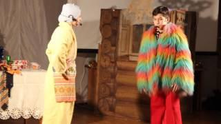 """25.12.2016 """"Калинка"""" Новогодняя сценка (Часть 2)"""