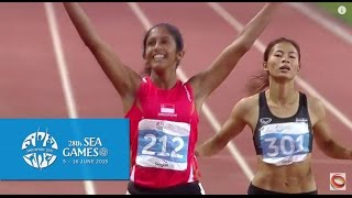 Gambar cover Athletics Women's 200m Finals  (Day 5) | 28th SEA Games Singapore 2015