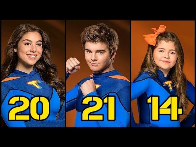 The Thundermans From Oldest to Youngest