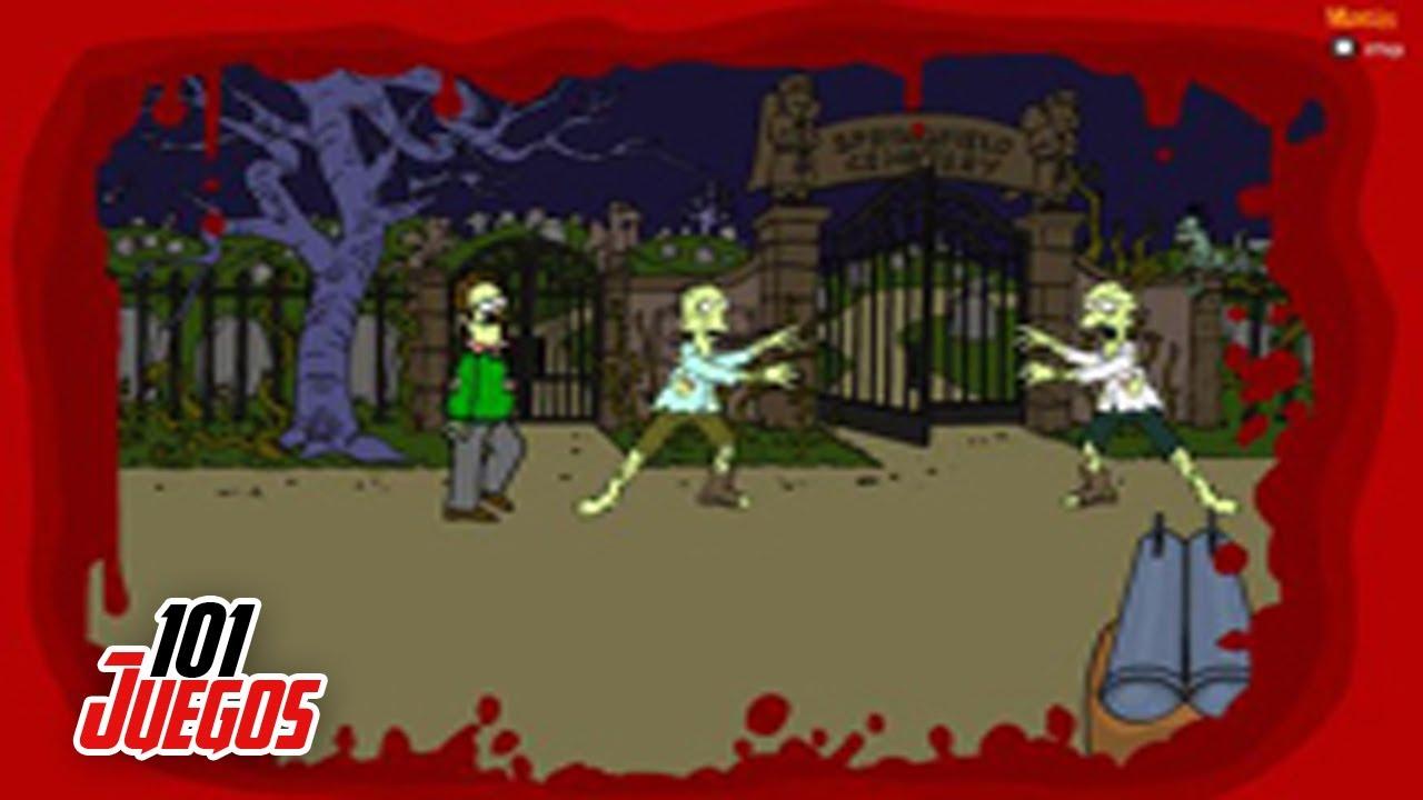 Juegos de Zombies Zombies de los Simpsons  YouTube