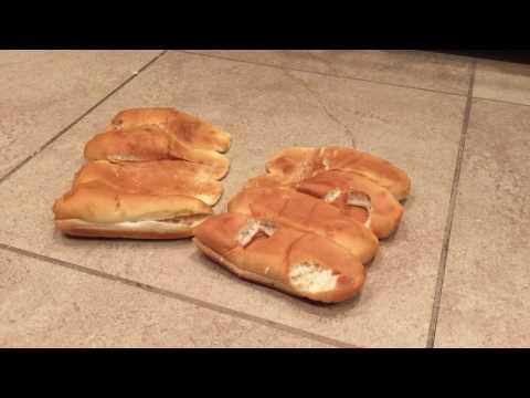Bread Buns Crushed under Tall Block Heel Platform Boots