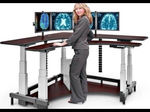 Adjustable Height Desk Create An Attractive Sleek And Modern - Adjustable height desk diy