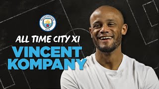 Vincent Kompany's All-Time Man City XI