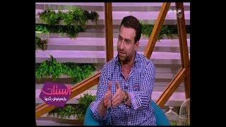 الستات مايعرفوش يكدبوا | شاهد...ما قاله الفنان نضال الشافعي عن الزعيم عادل امام