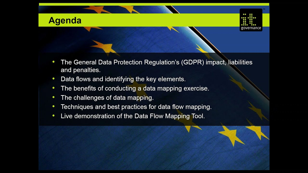 Conducting A Data Flow Mapping Exercise Under The GDPR YouTube - Data mapping exercise