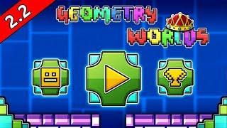¡¡NUEVO JUEGO de GEOMETRY DASH WORLD 2.2 WTF!!