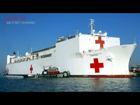 Learn About The World Biggest Hospital Ship | The US Military Hospital Ship USNS Comfort