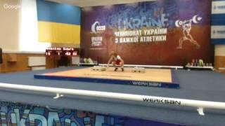 Чемпіонат України з важкої атлетики до 13 та до 15 років. В/к 32, 36, 40, 44, 48, 53, +53 кг