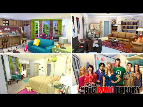 The Sims 4 Pr 233 Dio The Big Bang Theory House Building