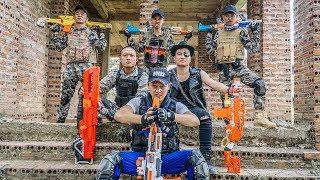 LTT Game Nerf War : Captain Warriors SEAL X Nerf Guns Fight Criminal Group Inhuman Thugs