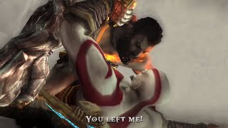 God of War - Kratos Brother Deimos Boss & Reunion (1080p 60fps)