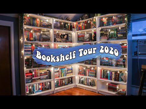 BOOKSHELF TOUR 2020 (800+ books!)