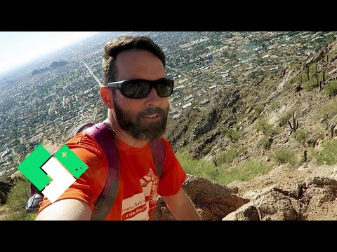 Hiking Camelback Mountain For The First Time | Clintus.tv