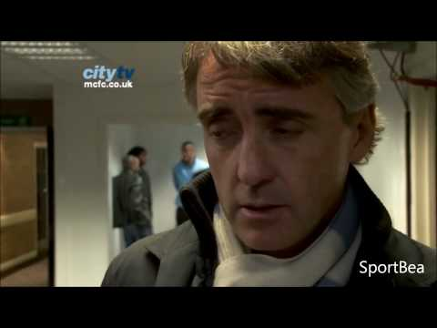 Manchini After-Match Interview Manchester City 2-0 Newcastle United
