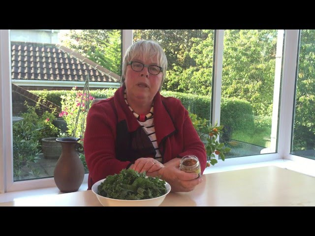 Video about cooking Kale with Almonds